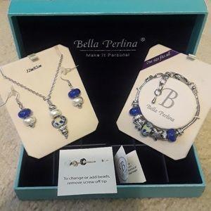 NWT Bella Perlina jewlery set